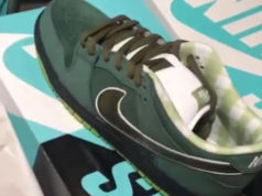 Concepts Nike SB Dunk Low Green Lobster Release Date