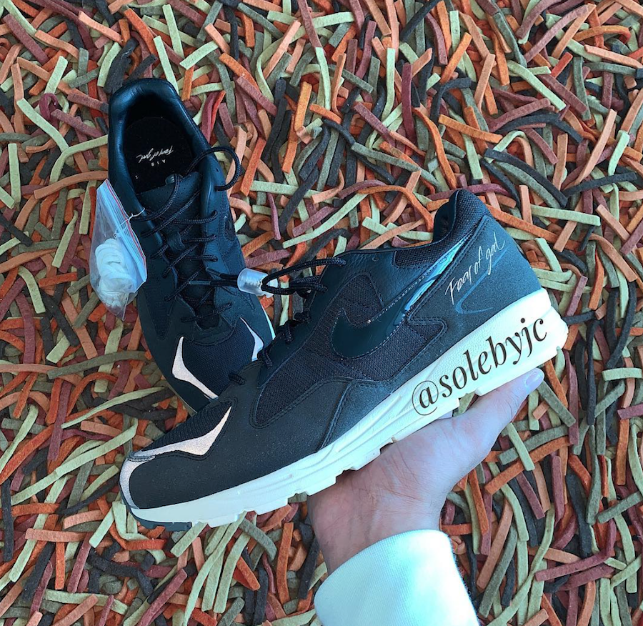 5488a5a5 Fear of God Nike Air Skylon 2 Black BQ2752-001 Release Date ...