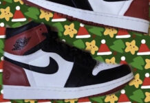 Fragment Air Jordan 1 Black Toe Tongue Release Date