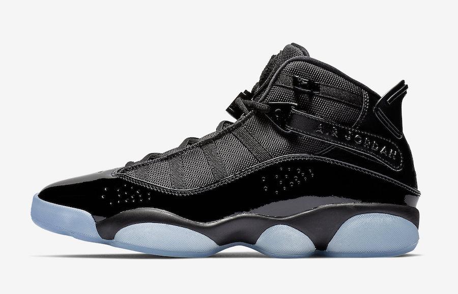 Jordan 6 Rings Black Ice 322992-011