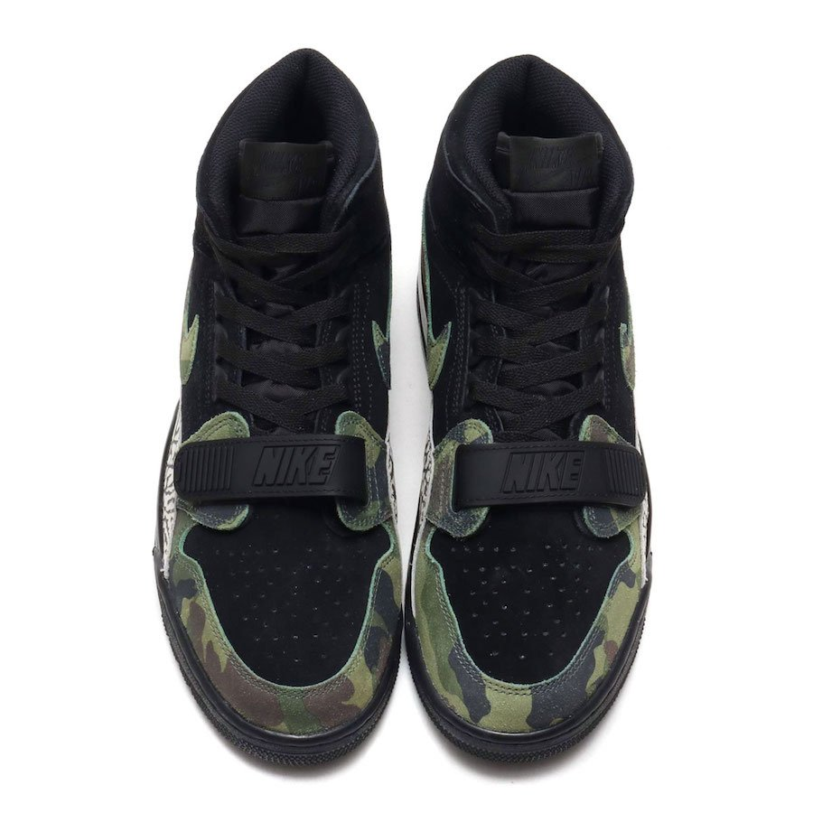 Jordan Legacy 312 Camo Green AV3922-003 Release Date