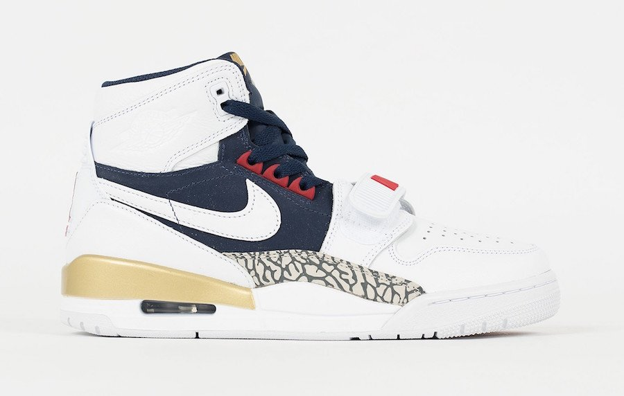 buy online a4a47 14bf9 Jordan Legacy 312 Olympic AV3922-101 Release Date
