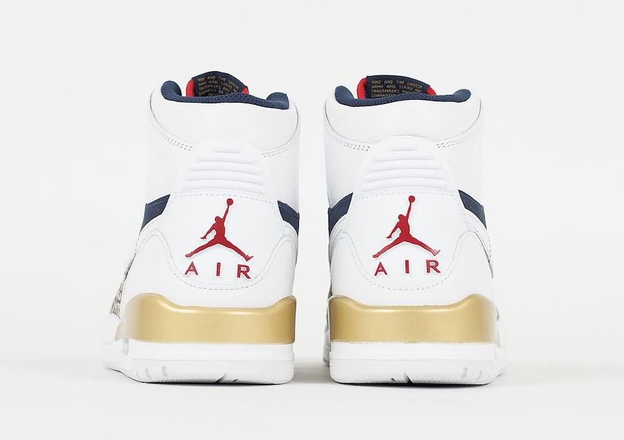 Jordan Legacy 312 Olympic AV3922-101 Release Date