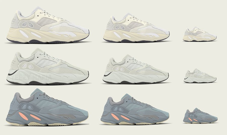 ee0c4f671 Kids adidas Yeezy Boost 700 2019 Toddler + Infant Sizes