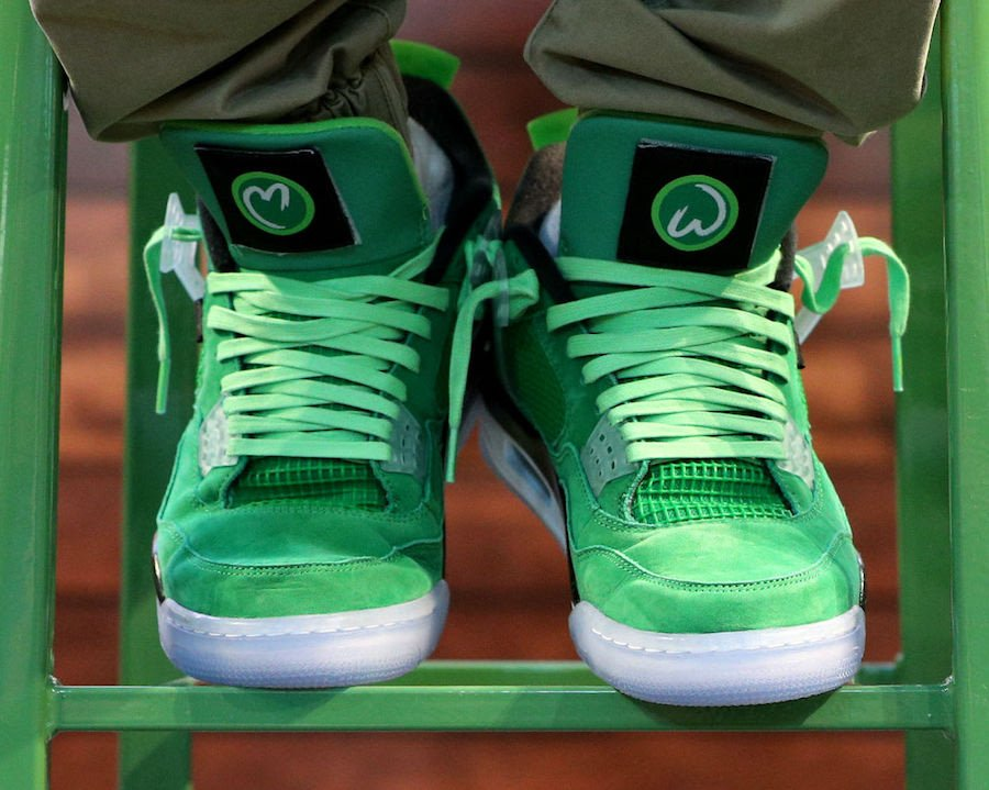 Mark Wahlberg Air Jordan 4 Wahlburgers