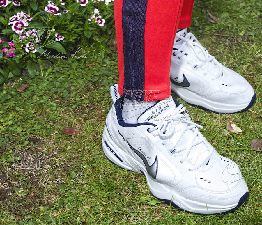 Martine Rose Nike Air Monarch Release Date