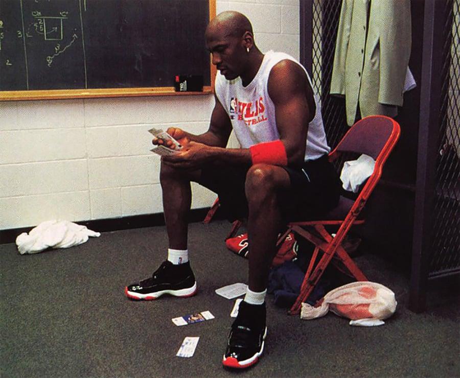 Michael Jordan Air Jordan 11 Bred OG 1996