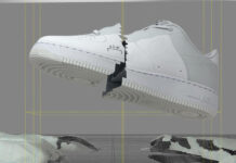 Nike A-Cold-Wall Air Force 1 White