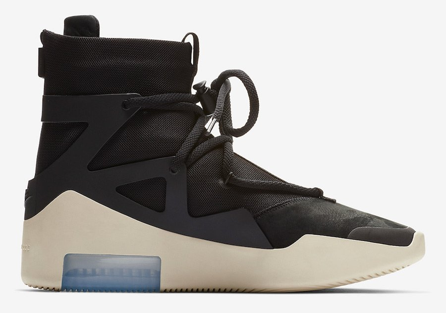 Nike Air Fear of God 1 Black AR4237-001 Release Date