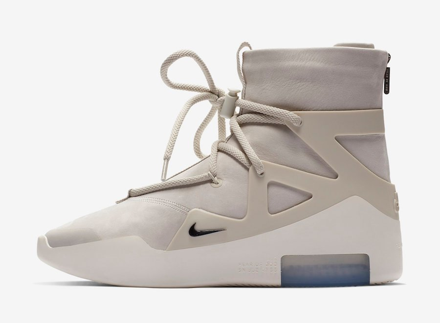 Nike Air Fear of God 1 Light Bone AR4237-002