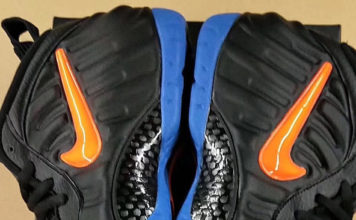 low priced f733a 322bb First Look  Nike Air Foamposite Pro  Knicks