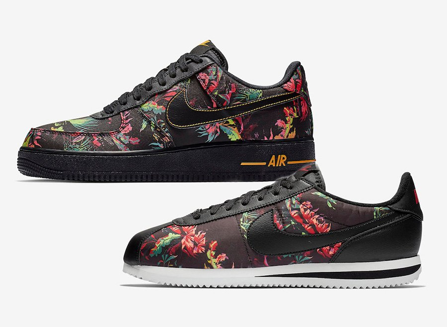 Nike Air Force 1 Cortez Floral Pack 2019