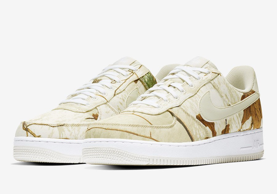 Nike Air Force 1 Low Realtree AO2441-100 Release Date