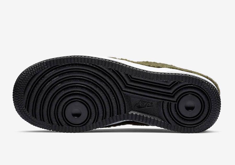 Nike Air Force 1 Low Shearling AV6673-300 Release Date