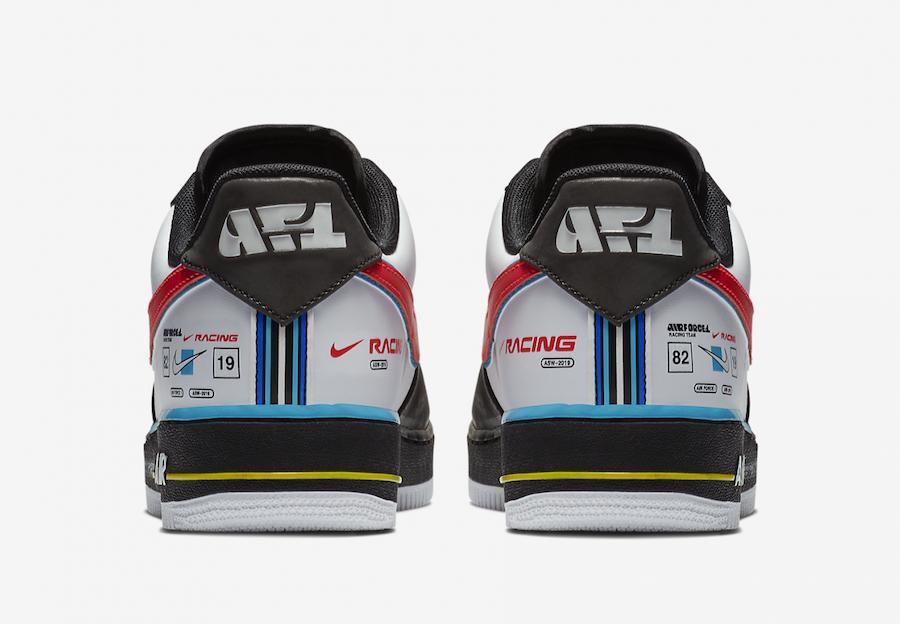 Nike Air Force 1 Low Racing Release