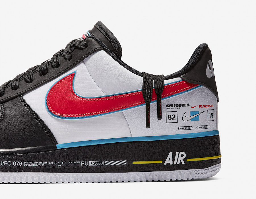 Nike Air Force 1 Racing All-Star Release Date