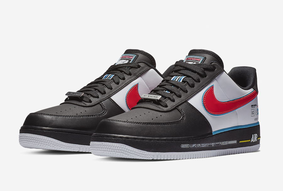 reputable site ef640 cb669 Nike Air Force 1 Racing All-Star Release Date