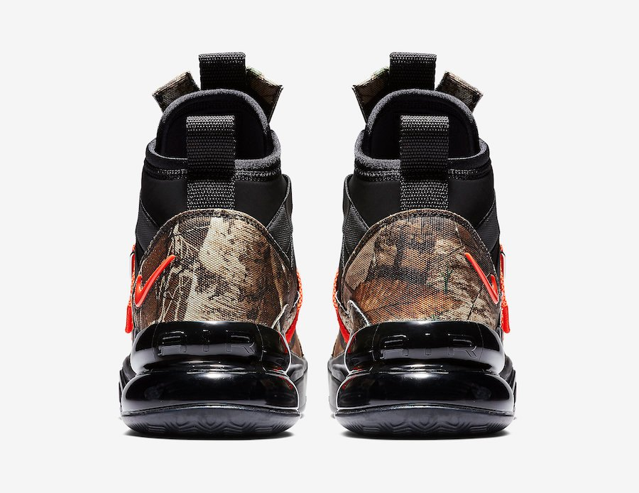 Nike Air Force 270 Utility Realtree BV6071-001 Release Date
