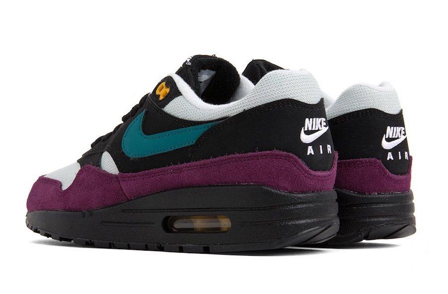 Nike Air Max 1 Black Geode Teal 319986-040
