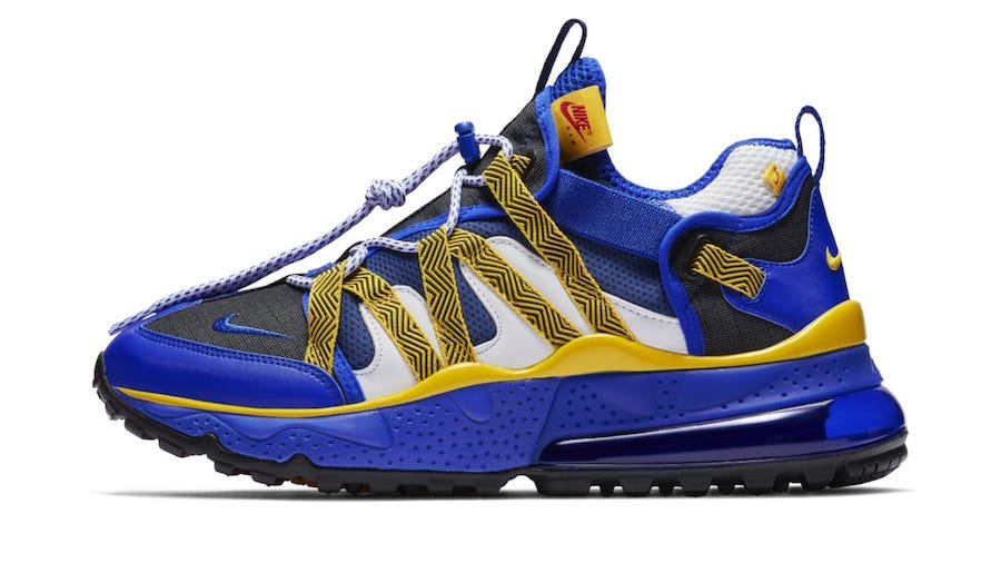 Nike Air Max 270 Bowfin Golden State Warriors Release Date