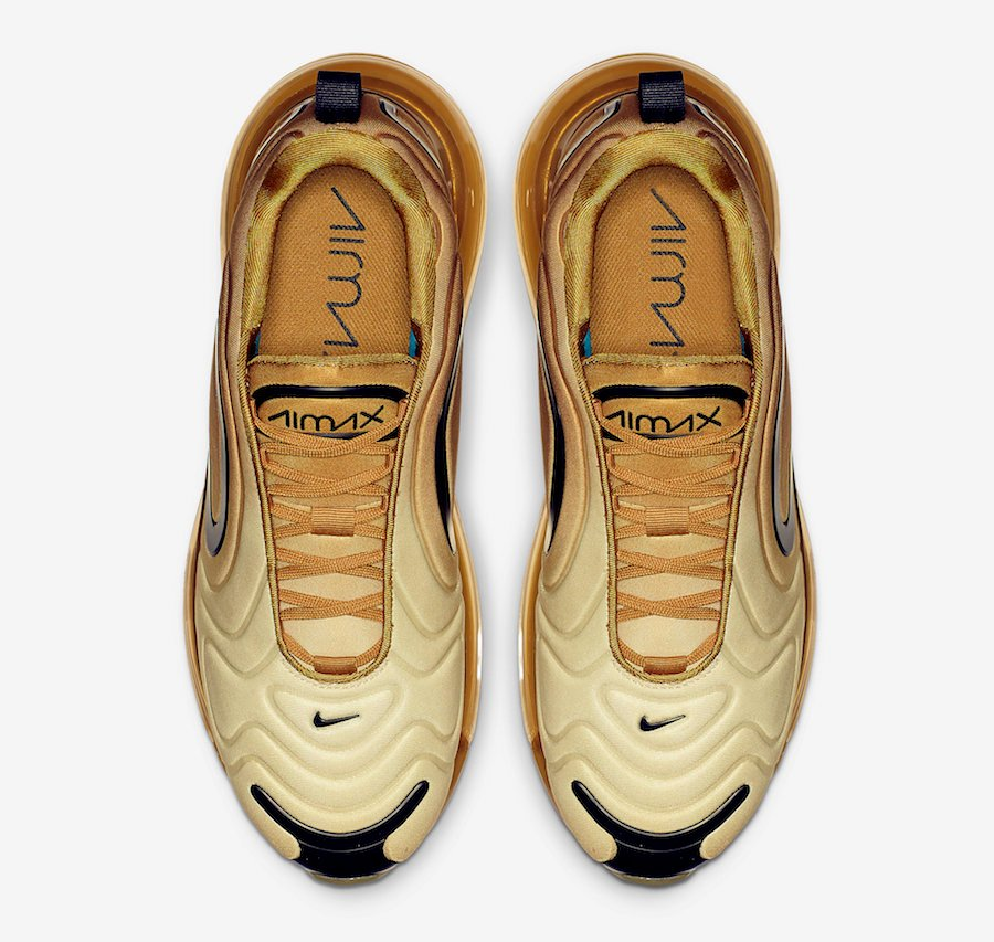 Nike Air Max 720 Gold Black AO2924-700 Release Date