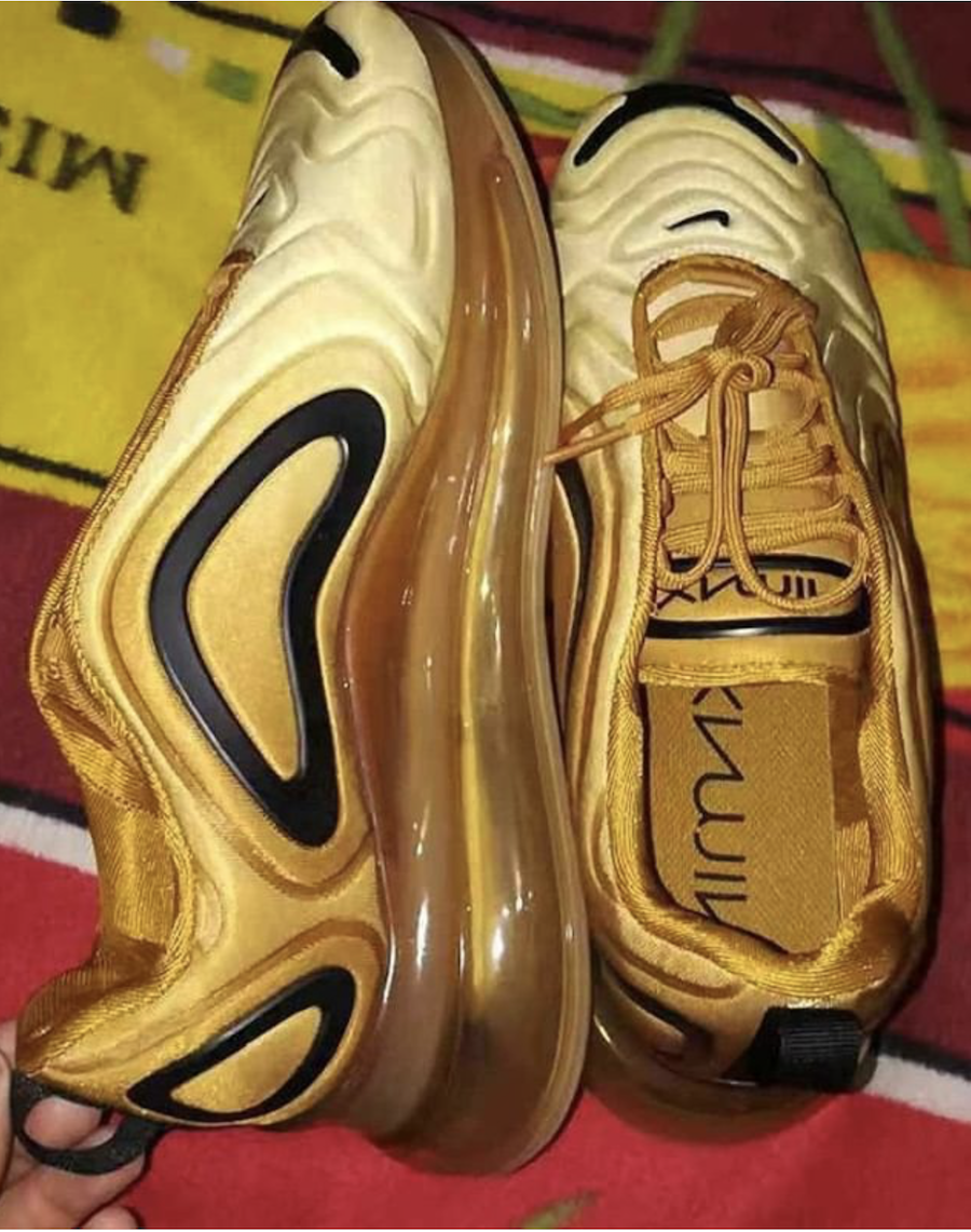 Nike Air Max 720 Gold Black Release Date