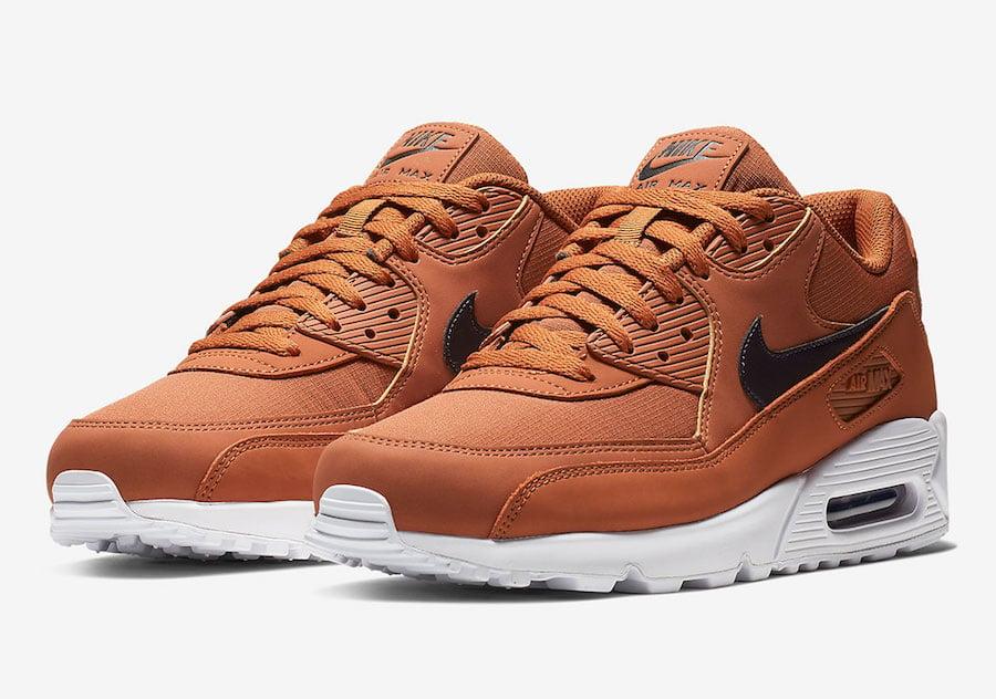 c73823892aa4 Nike Air Max 90 Dark Russet AJ1285-203 Release Date