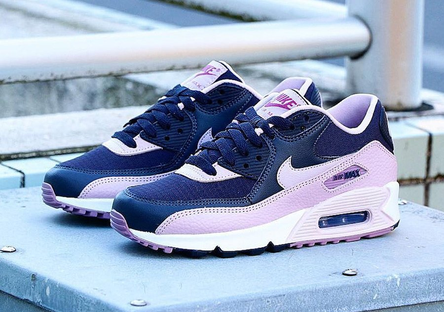 Nike Air Max 90 Plum Chalk Women S 325213 059 Release Date Sneakerfiles