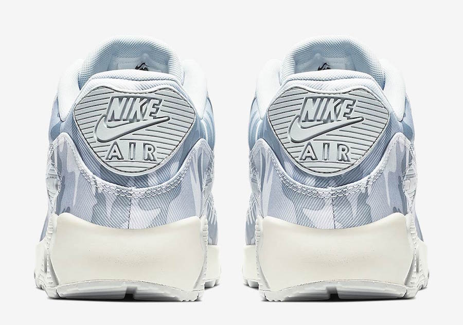 Nike Air Max 90 Winter Camo AQ9721-001 Release Date