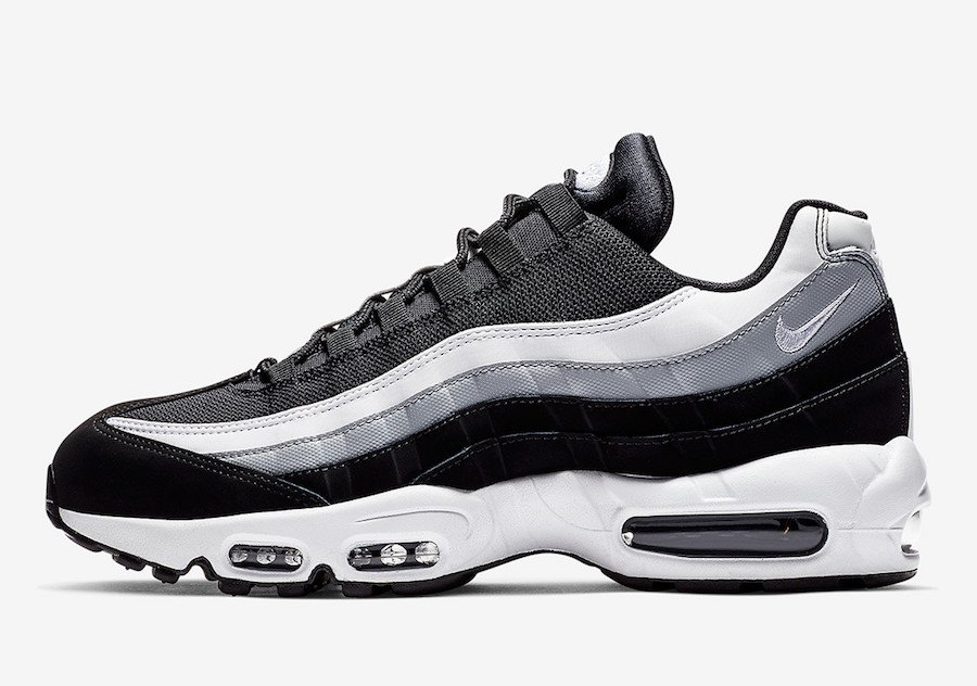 Nike Air Max 95 Black Wolf Grey White 749766-038 Release Date