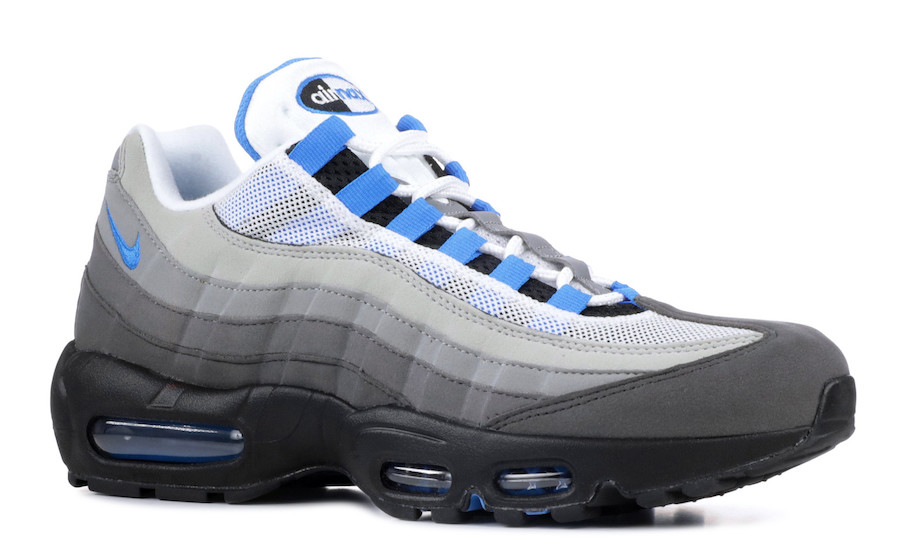 sports shoes 7fffe 67d6c Nike Air Max 95 Crystal Blue AT8696-100 Release Date