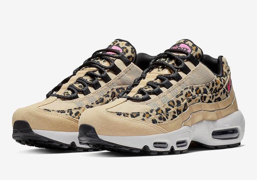 6a596d491b0b6 Nike Air Max 95 Leopard Print CD0180-200 Release Date | SneakerFiles