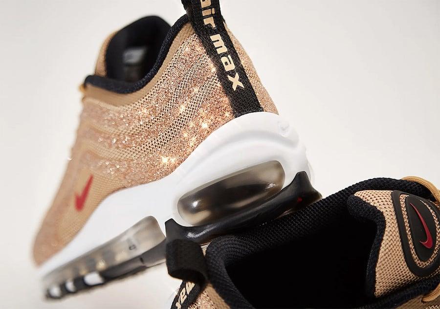 Nike Air Max 97 Gold Swarovski 927508-700 Release Date