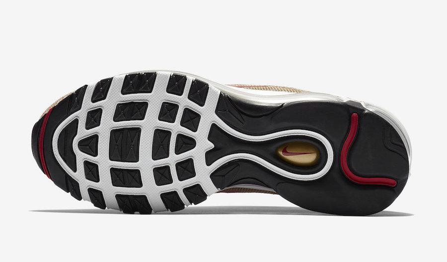 Nike Air Max 97 Gold Swarovski 927508-700 Release Date Info