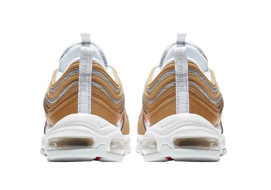 Nike Air Max 97 Metallic Gold University Red BV0306-700