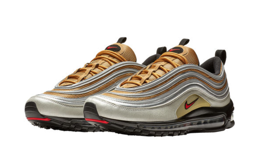 NIKE Sneakers 'Air Max '97' Oro Argento