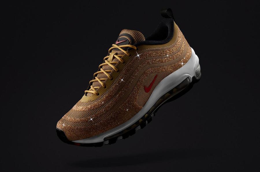 Nike Air Max 97 Swarovski Metallic Gold 927508-700