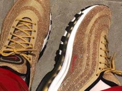 Nike Air Max 97 Swarovski Metallic Gold Release Date