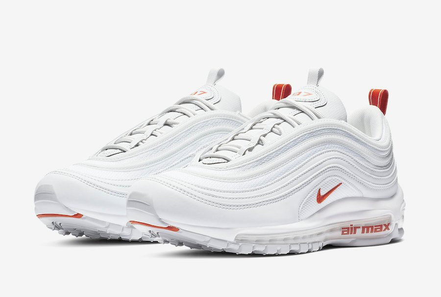 Nike Air Max 97 White Team Orange BV1985 002 Release Date