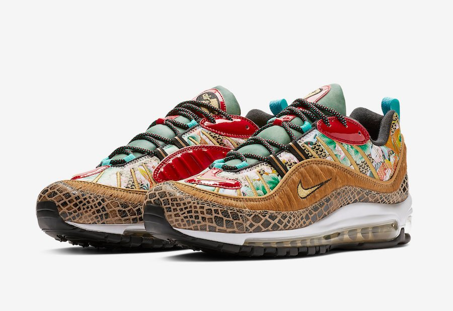 Nike Air Max 98 Chinese New Year CNY BV6649-708 Release Date