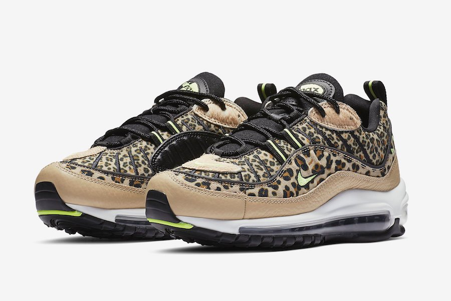 official photos 5e526 9ad76 Nike Air Max 98 Leopard Print BV1978-200 Release Date