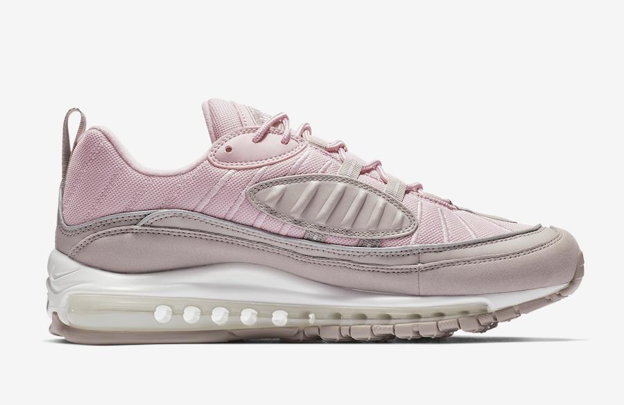 Nike Air Max 98 Pink Pumice 640744-200 Release Date