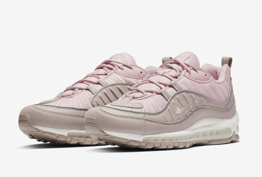 the best attitude 13d49 71997 Nike Air Max 98 Pink Pumice 640744-200 Release Date ...