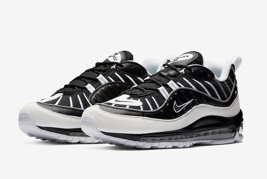 the best attitude 0b731 7ce5c Nike Air Max 98 White Black 640744-010 Release Date ...