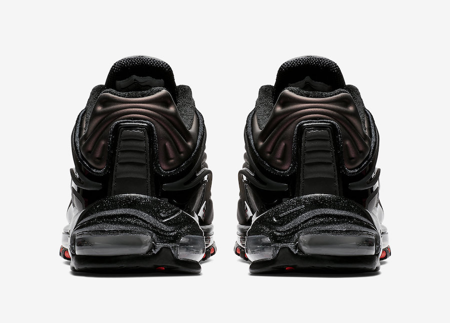 Nike Air Max Deluxe Black Anthracite Bright Crimson AO8284-001