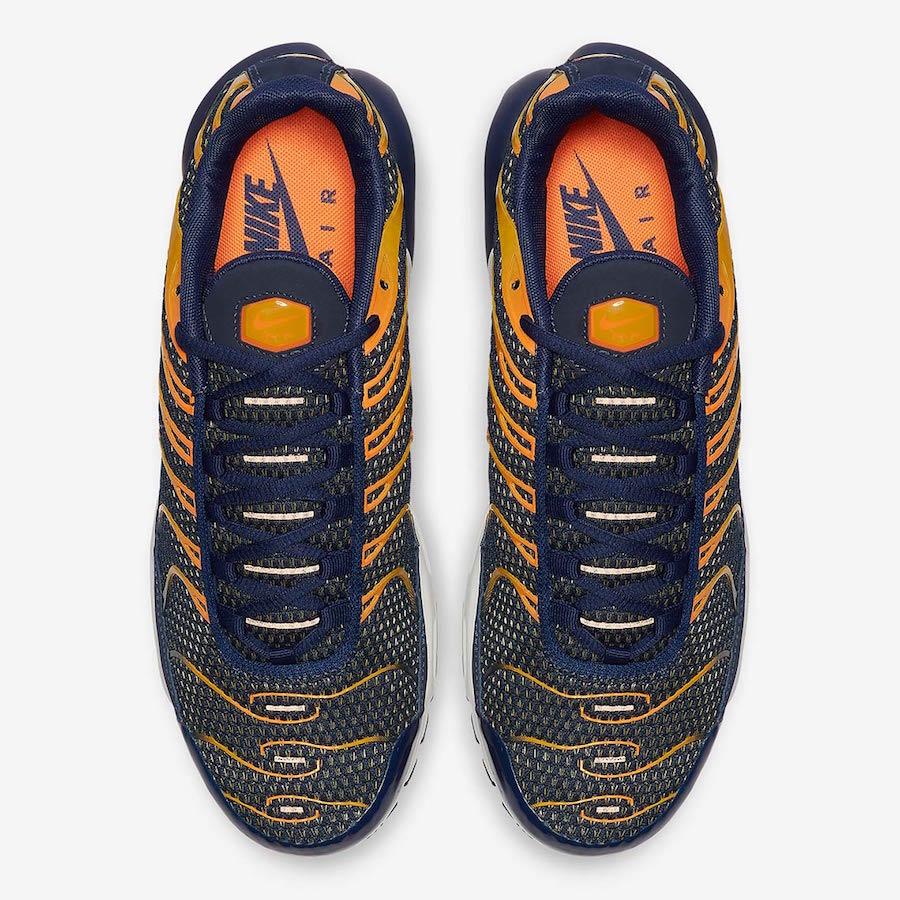 Nike Air Max Plus Blue Void Orange 852630-408