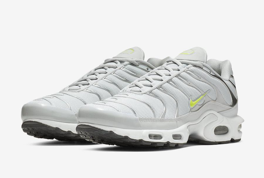 separation shoes dcdbe 8046e Nike Air Max Plus Grey Volt CD1533-002 Release Date