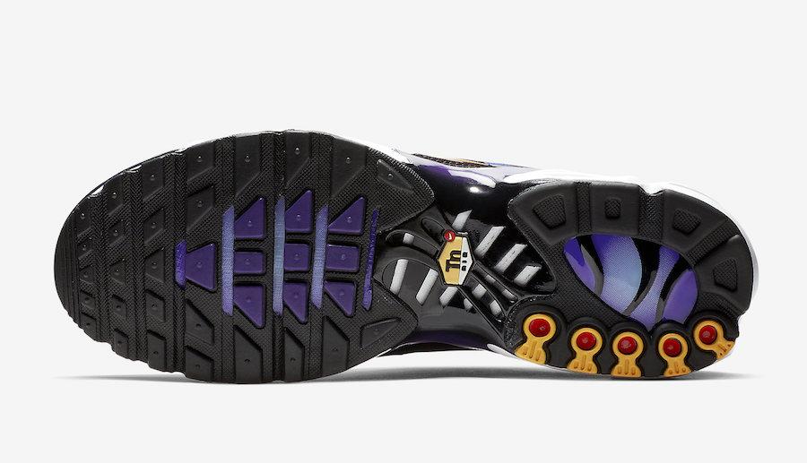 Nike Air Max Plus OG 'Voltage Purple Total Orange' 2018 on