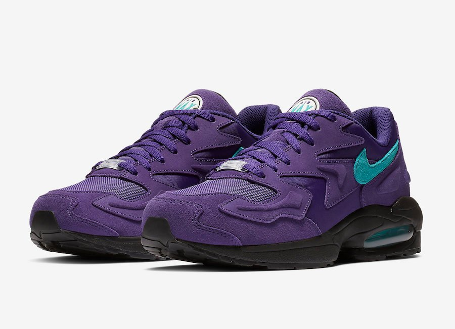 Nike Air Max2 Light Grape AO1741-500 Release Date