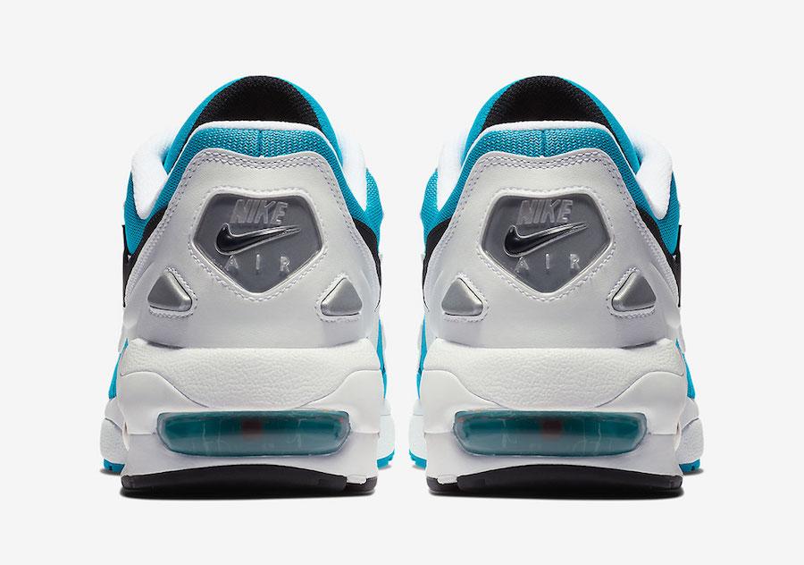 Nike Air Max2 Light OG Blue Lagoon AO1741-100 Release Date